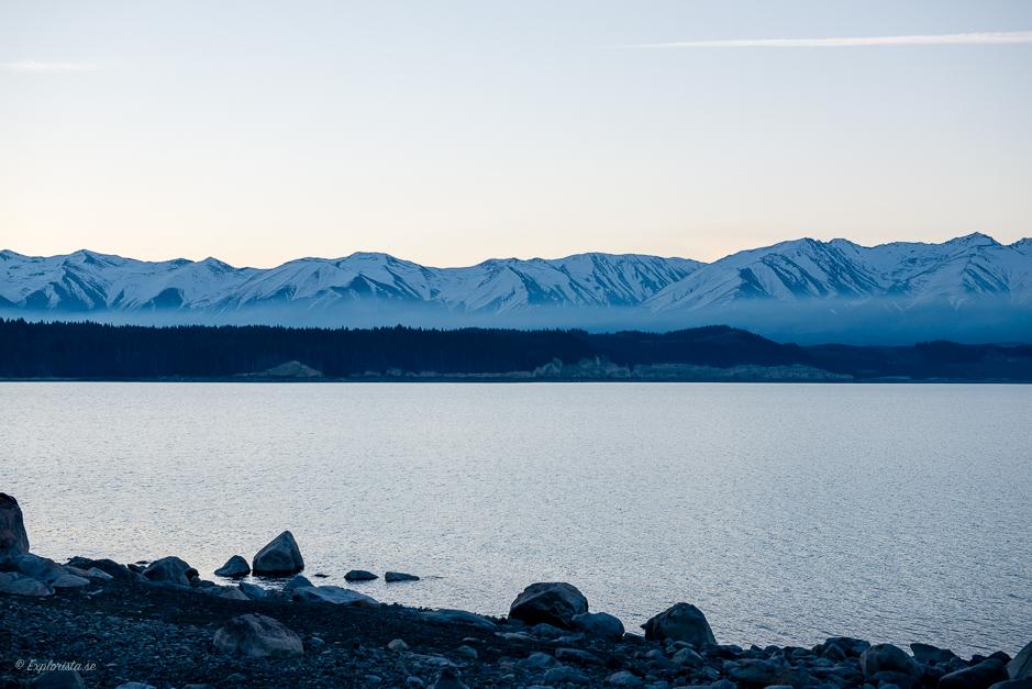 berg och sjö nya zeeland