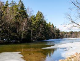 delsjön is vår