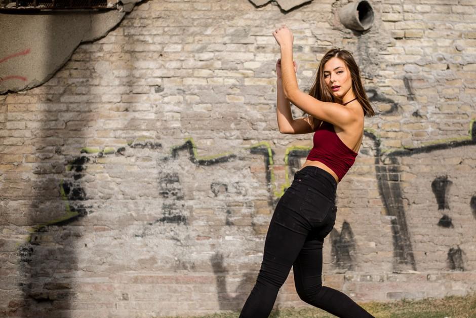 streetdance woman urban