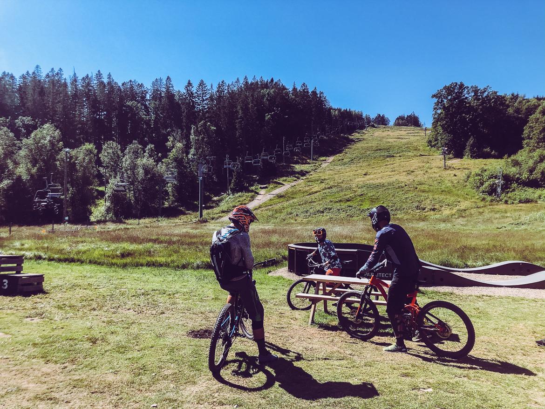 Vallåsen bike park