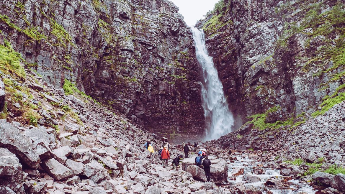 Njupeskär vattenfall