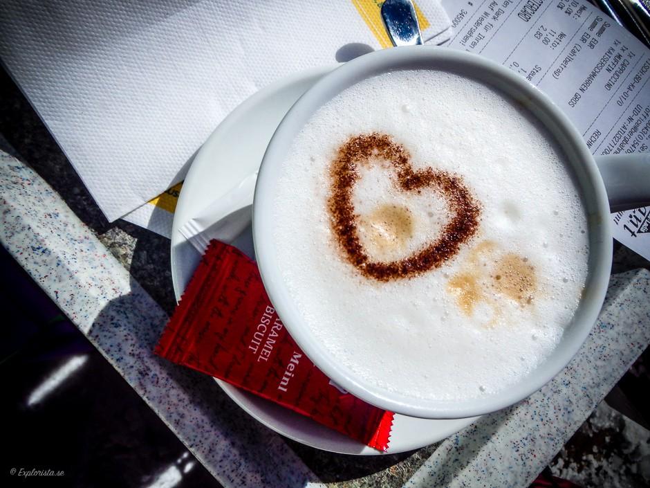 kaffe med hjärta