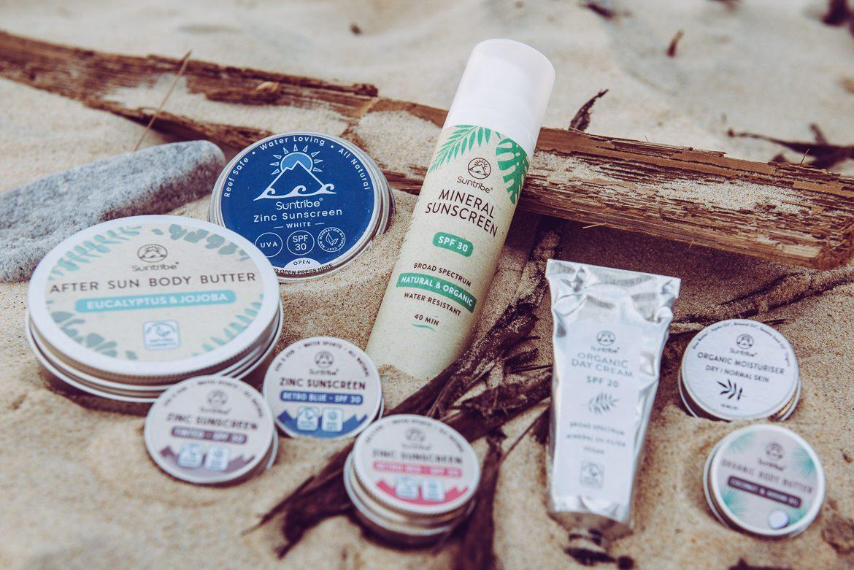 Suntribe worry-free sunscreen produkter