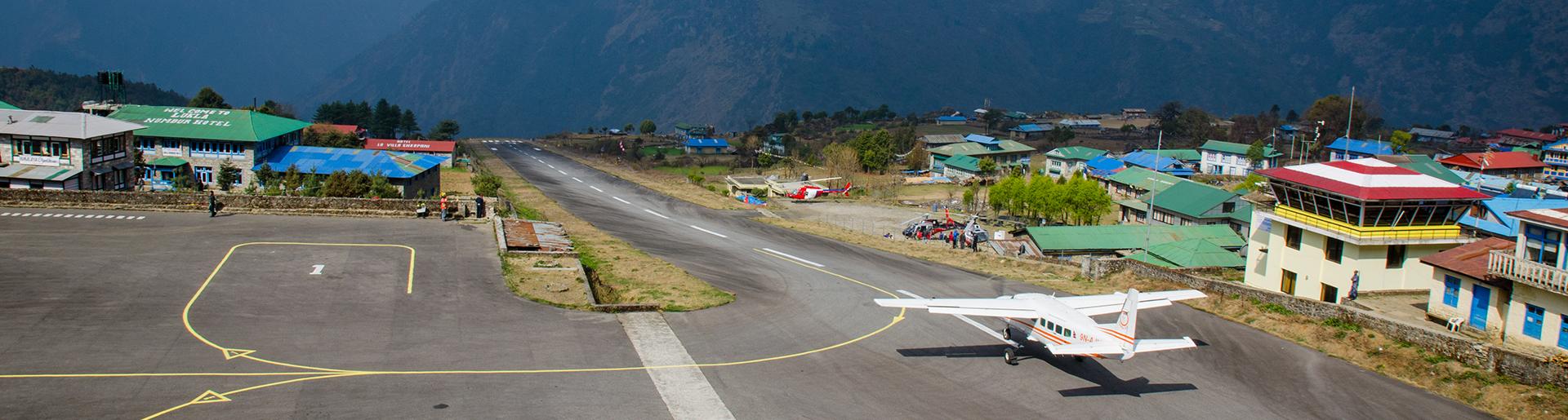 lulka airport, nepal