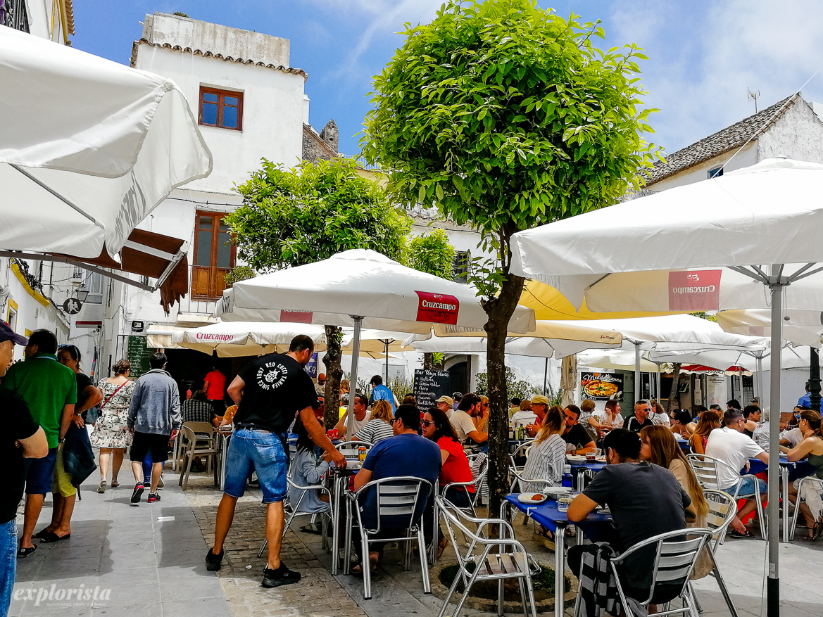 plaza i tarifa med tapasrestauranger