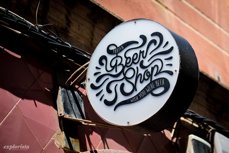 beer shop skylt - wish you were beer