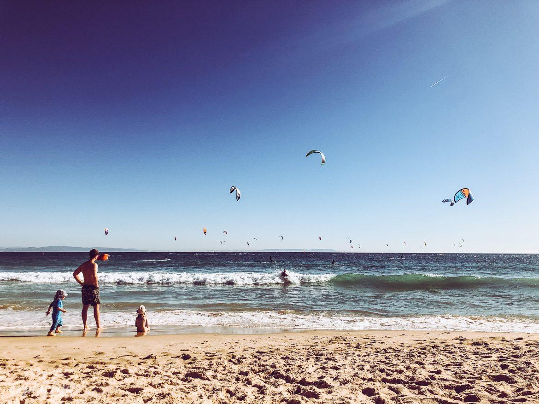 Valdevaqueros strand i Tarifa