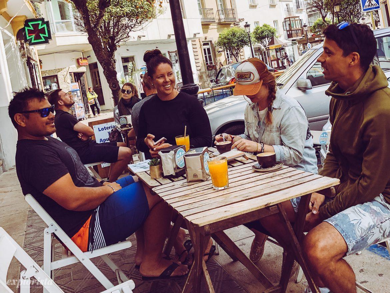 Frukost på Andrea's i Tarifa