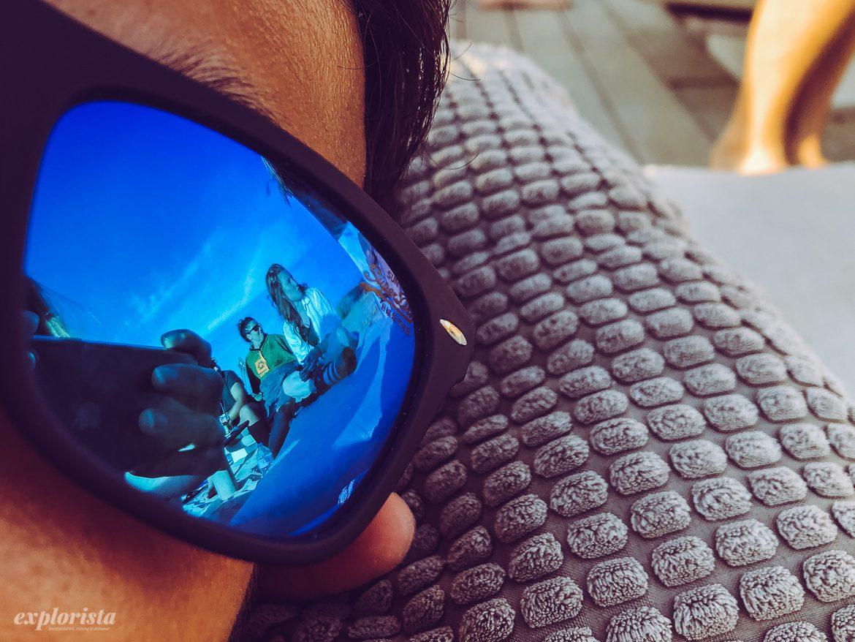 solglasögon reflektion