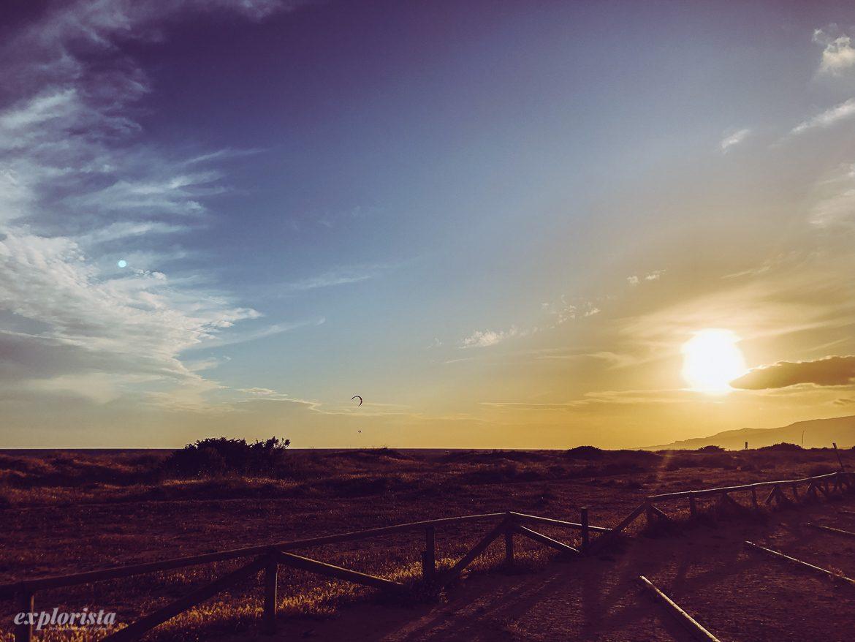 Solnedgång i Tarifa