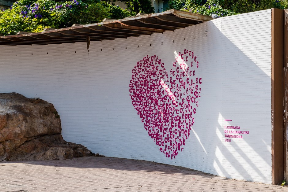 hjärta grafitti