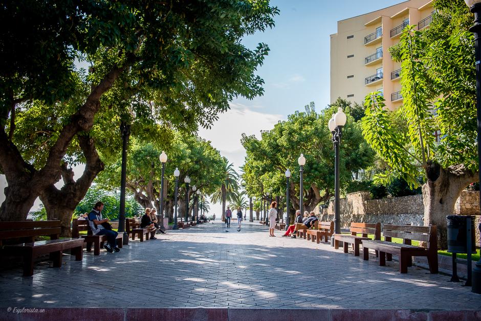 gångväg tarragona
