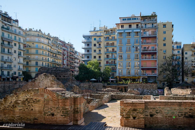 thessaloniki utgrävningar historia