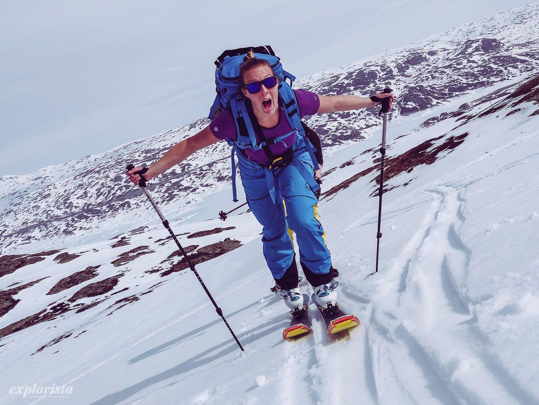 Explorista på topptursskidor Blizzard Sheeva 10