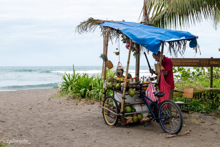 kokosnötsförsäljare