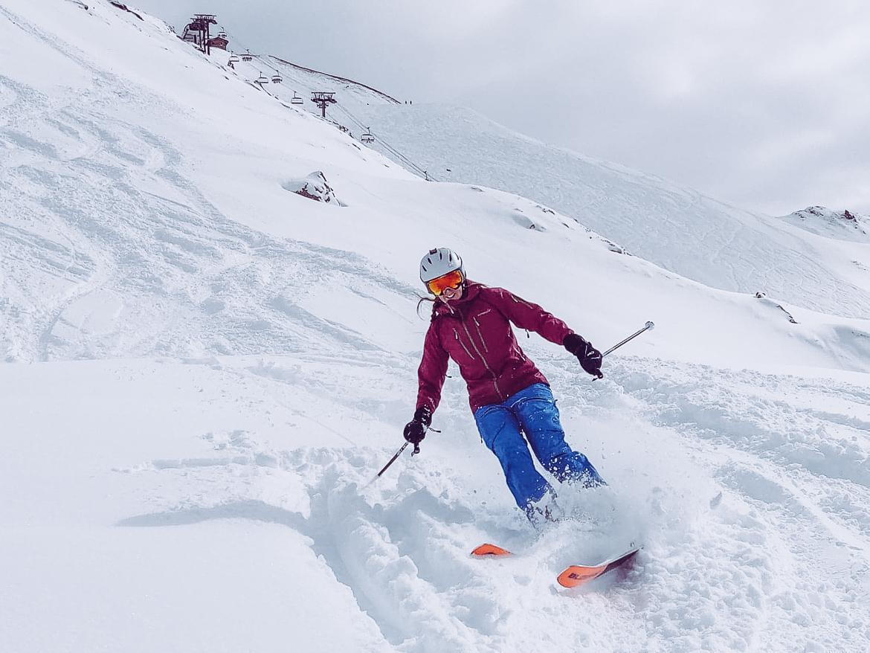 Explorista on UCPA Tignes offpist trip skiing pow