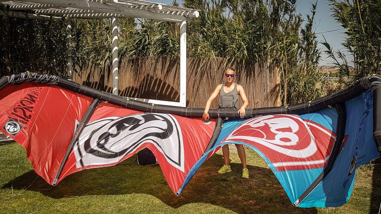 Vilken utrustning för kitesurf?