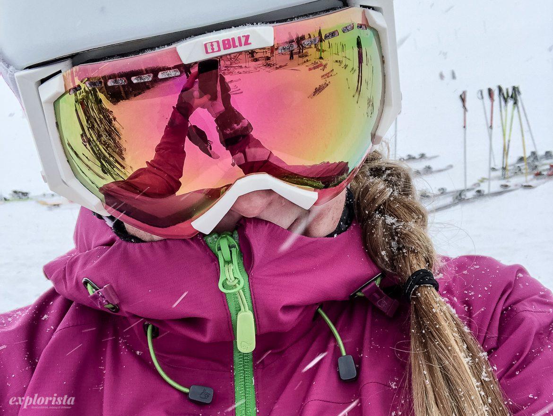 explorista skidåkare bliz