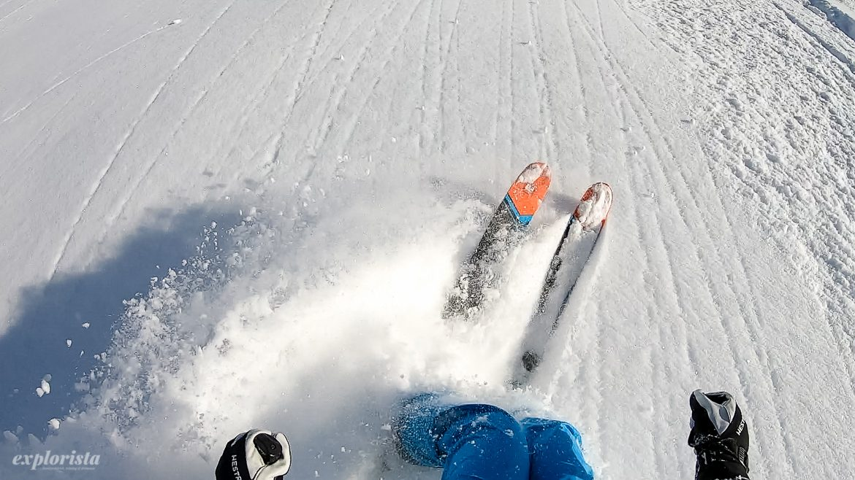 offpist skidåkning emmi