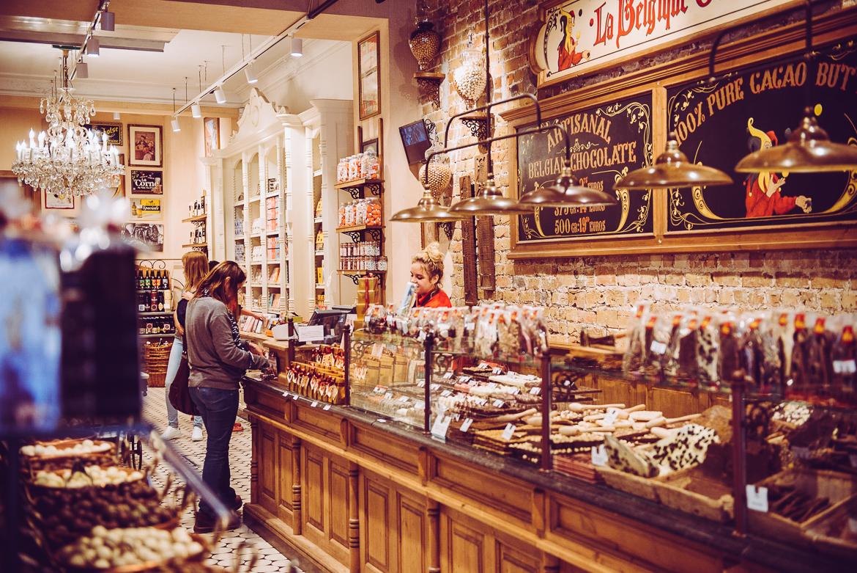 Brygge chokladbutik