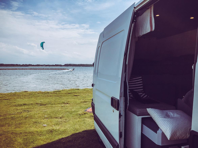 Kitesurf och vanlife