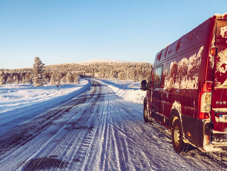 Vanlife på vintern Sverige