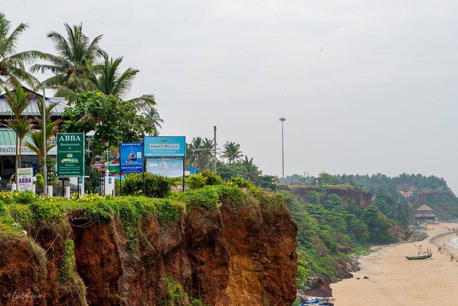 varkala north cliff