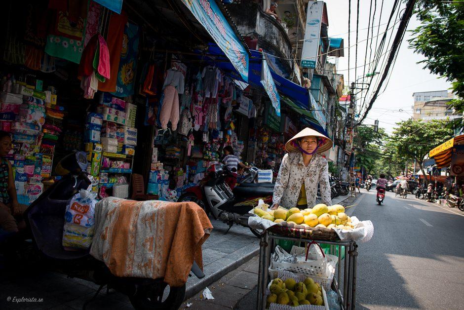 försäljare i hanoi
