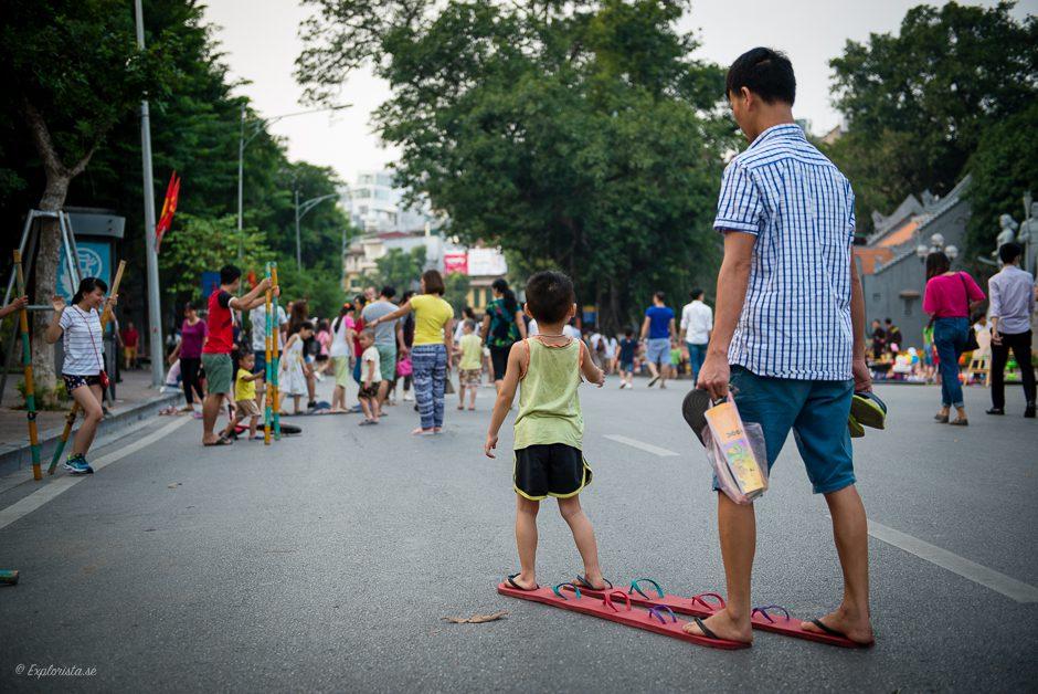 pojke och pappa vietnam