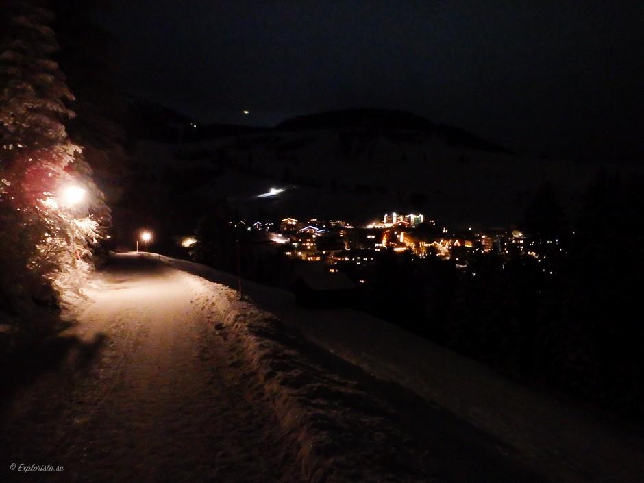 vinterväg mörker