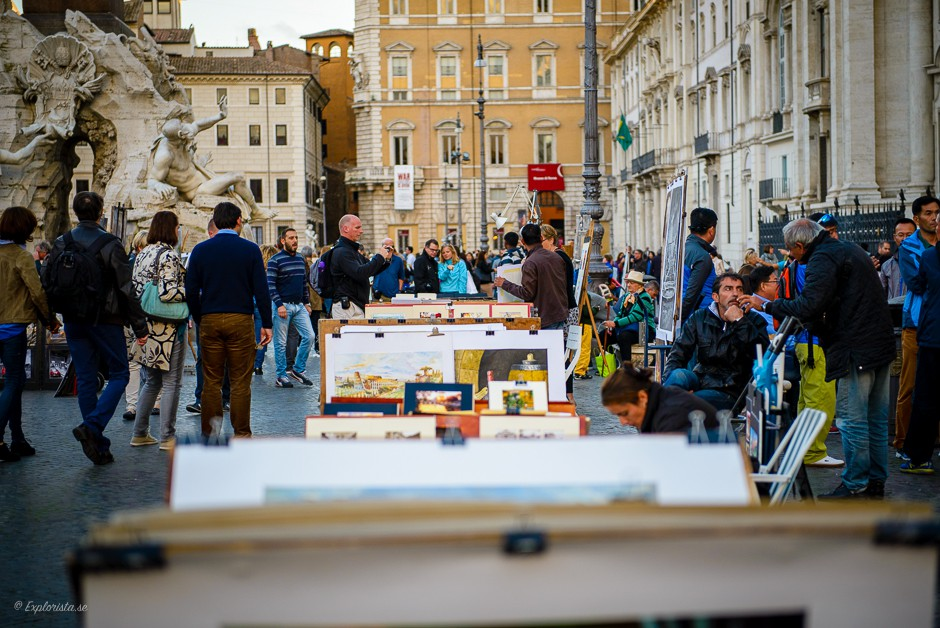 tavelförsäljare rom
