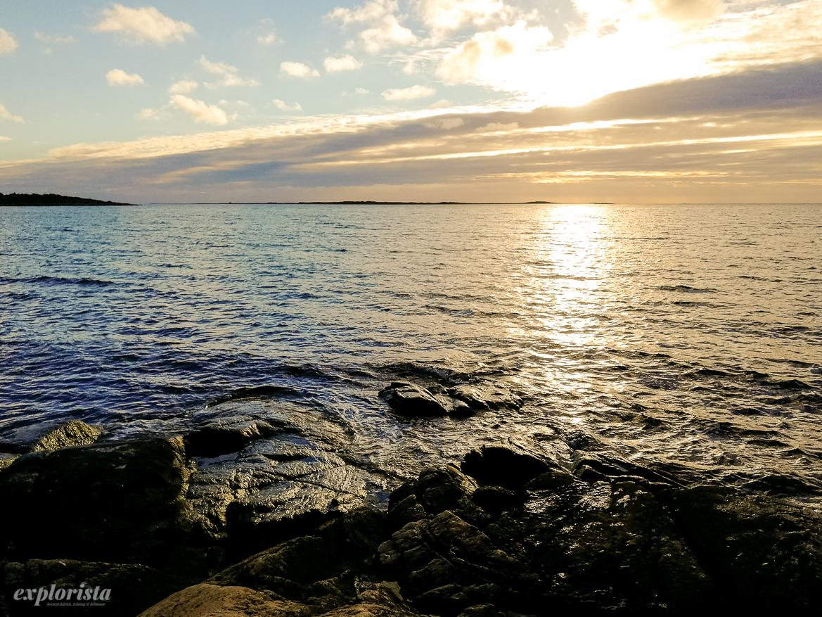 hav solnedgång