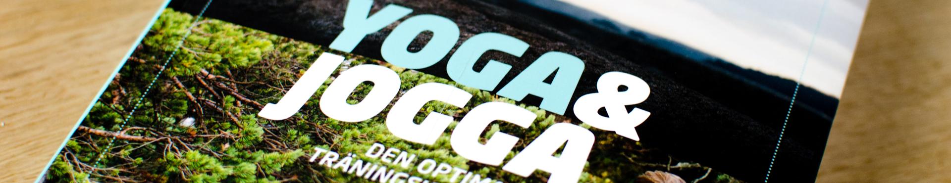 bok yoga och jogga