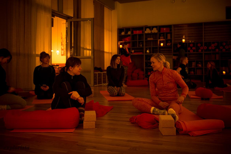 yoga på holiday club åre